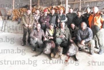 """Чичото на ексфутболиста на """"Левски"""" /Сф/ Г. Марков направи хеттрик, отстреля три прасета в опожарените ловни полета край Ощава"""
