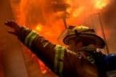Пламна покрив на къща в Гоце Делчев