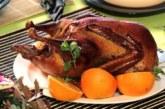 Печена патица на фурна с хрупкава глазура от мед и портокал