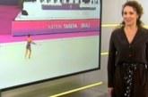 Шампионка по художествена гимнастика стана ТВ водеща