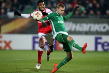 """""""Лудогорец"""" и """"Брага"""" – 0:0! Българският шампион запазва лидерската си позиция"""