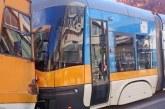 ОПАСЕН СБЛЪСЪК! Два трамвая се удариха в центъра на София