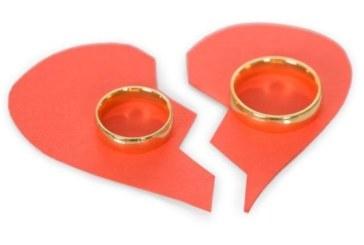 Всеки трети брак завършва с развод