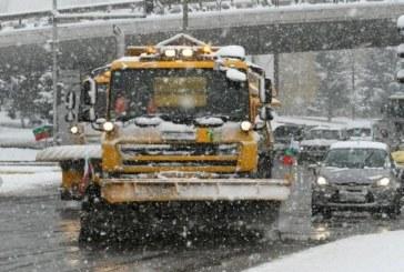 Над 110 машини в готовност да чистят снега в столицата