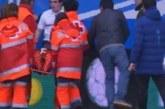 Елитен футболист получи сърдечен проблем по време на мач, откараха го по спешност в болница