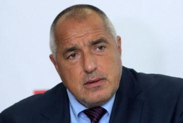 Б. Борисов спря кортежа, внезапно се върна в София
