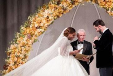Бляскавата сватба на Серина и Алексис /СНИМКИ/