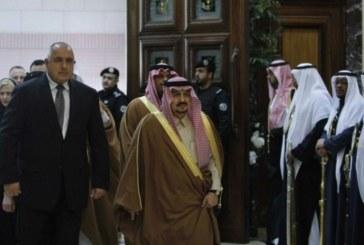 Вижте снимки от историческата среща на Б. Борисов и краля на Саудитска Арабия
