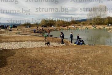 ХИТОВА ДЕСТИНАЦИЯ! Риболовци от Кюстендилско и съседна Македония си харесаха водоем край Долна Гращица, мерят умения по улов на шаран