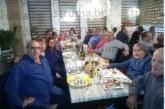 Директорът на Инспекция по труда в Пиринско Сл. Симитчийска-Яновска отбеляза 50-годишен  юбилей със стилно парти, с помощта на дъщеричката Цвети духна свещичките на огромната торта