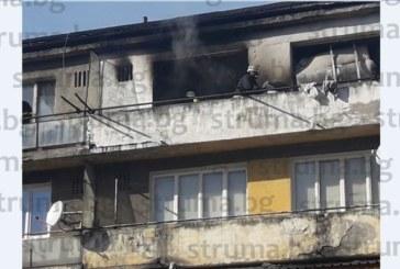 Огнен ад в Разложко! Пожар изпепели апартамент, евакуираха съседите