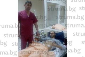 ДОБРИ НОВИНИ СЛЕД КЪРВАВИЯ ЕКШЪН В БЛАГОЕВГРАД! Изписаха от болница студента, прободен с нож в крака