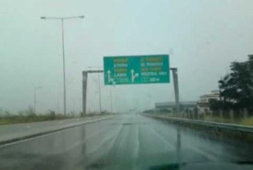 Заради пороя! Спряха движението по магистралата Атина-Солун