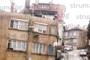 """Разбраха защо се запали 3-ет. сграда на ул. """"П. Дрангов""""! Домашната ракия се взривила като буре с барут, огнеборците с щанги изравят занамарен хидрант"""
