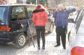 Бившият кмет д-р П. Илиев блъсна пежото на управителката на шивашка фирма, блокира движението в центъра на Петрич