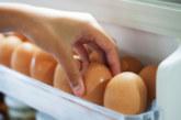 Не дръжте яйцата на вратата на хладилника