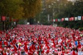 Дядоколедовци се надбягваха в Мадрид за благотворителност