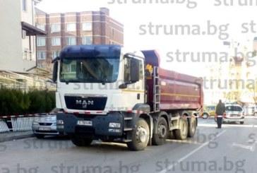 МВР-Благоевград току-що съобщи: Шофьорът на камиона убиец с отрицателна кръвна проба