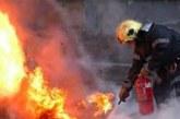Огнеборци гасиха пожар край Бобов дол