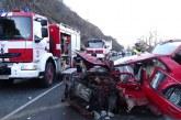 Трима са ранените в тежката катастрофа на входа на Кресненското дефиле