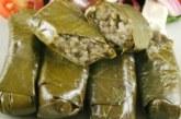 Постни лозови сарми с ориз