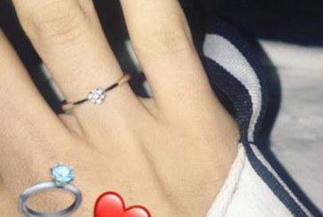 Годежен пръстен за коледен подарък! Вижте кой го получи