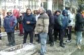 Неврокопчани протестират пред полицията срещу войната по пътищата