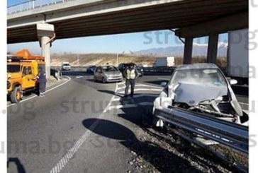 Семейство са пострадалите в катастрофата край Благоевград