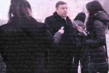 Ето какво обеща на протестиращите граждани кметът на Благоевград