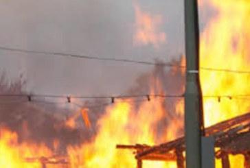 Огнен ад по празниците! Мъртвопиян мъж подпали къщата си, едва не изгоря жив