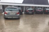 Реки от дъжд заляха тима на ЮЗУ по футзал в новата база на националите