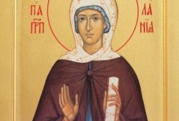 Църквате днес почита Св. преподобна Мелания Римлянка