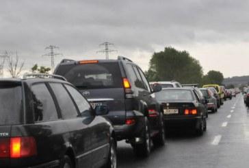 Интензивен трафик по Е-79 от Благоевград до Банско