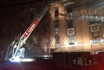 12 души загинаха при пожар в жилищен блок в Ню Йорк