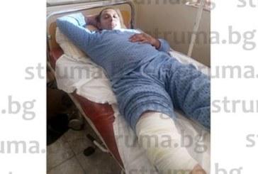 Петричанин оцеля в премазан от ТИР опел, връщал се от летището