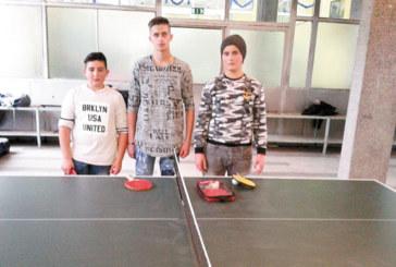 Кресненско школо излъчи отличниците в тениса на маса