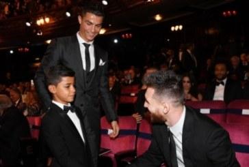 Синът на Роналдо фен на Меси