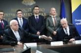 Подписаха договора за изграждане на тол системата