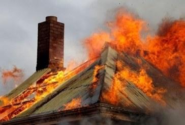 Огнеборци гасиха къща в Гоцеделчевско