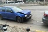 Верижно меле в София, пострада пешеходец