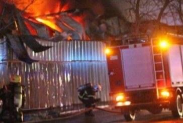 УЖАС! Пожарникари вадиха труп в промишлена зона