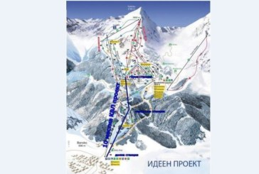 Юлен представи проекта за втори кабинков лифт на Банско в МОСВ