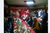 Фенклубът на ЦСКА в село Баня вдигна наздравици за успешна футболна 2018 г.