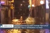 """Невижданата стихия """"Елинор"""" опустошава Западна Европа"""