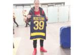 Посрещнаха като голяма звезда в Италия футболната прима Л. Костова