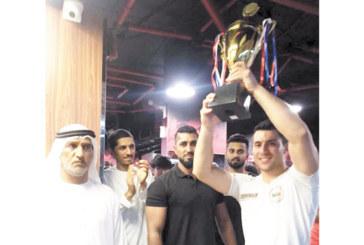 Благоевградски шампион по канадска борба взе 2 купи и 2000 дирхама в нефтената столица на ОАЕ