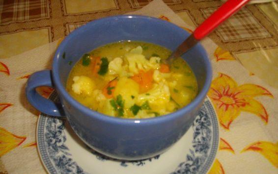 Супа с карфиол