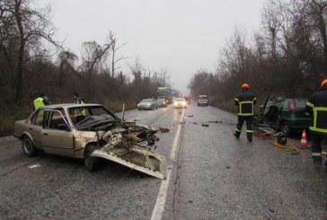 Трима младежи пострадаха при тежка катастрофа край Мадан