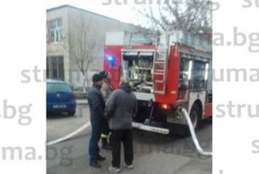 Огнеборци гасят пожар в Гоце Делчев