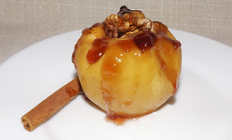 Печени ябълки
